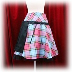 baby skirt tartancheckbondage add