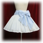 baby skirt ginghamcheckribbon color1