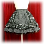 baby skirt polkadotribbonfrill color4