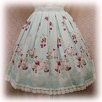 baby skirt cherrybouquet color2