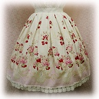baby skirt cherrybouquet color