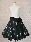 vm skirt elegantflaredribbon add